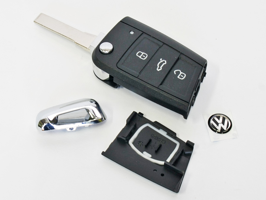 Replacement Blank Key for Volkswagen Golf Mk7