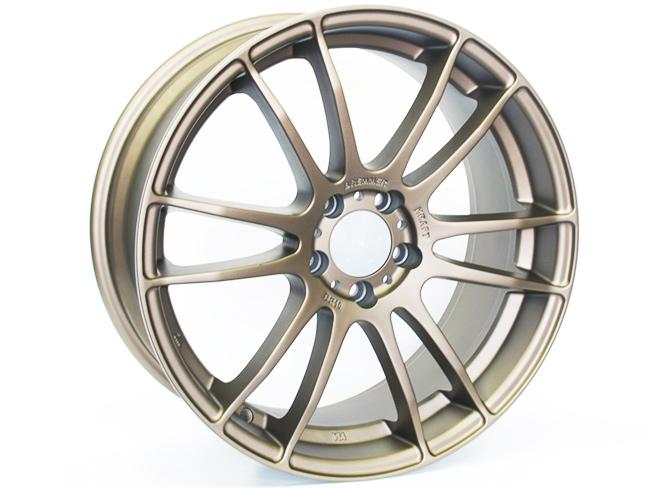 19″ Axe BR-10 5/112 Matt Bronze Alloy Wheels