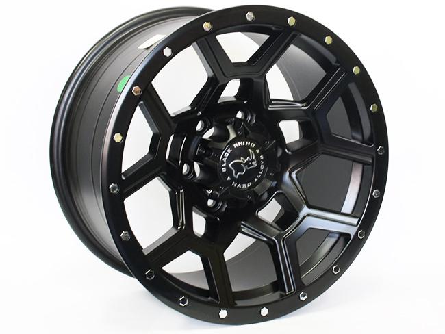 17″ LGS30 6/139 Matt Black Alloy Wheels
