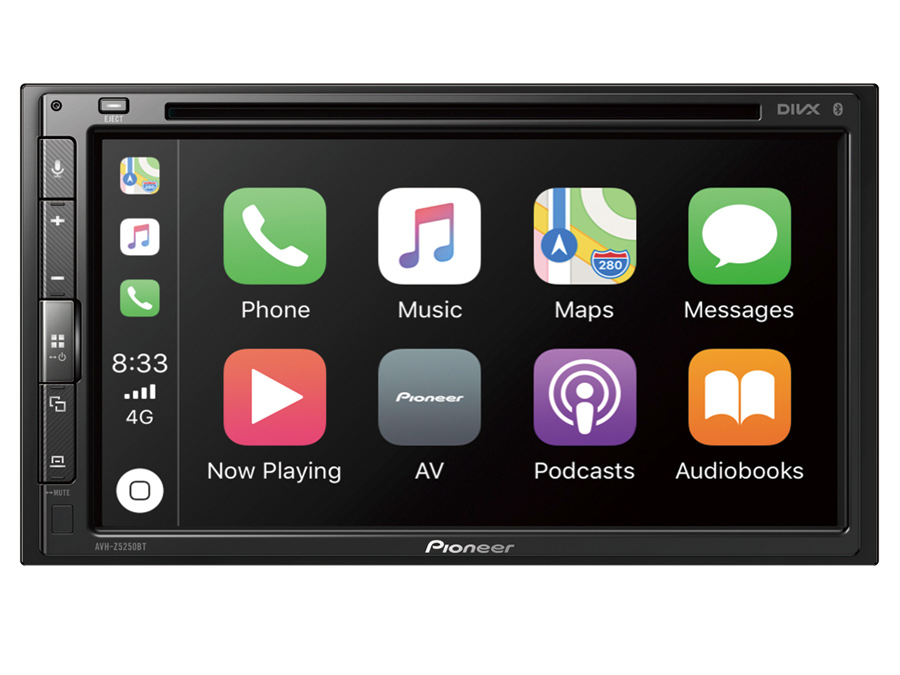 Pioneer AVH-Z5250BT Multimedia player with Apple CarPlay, Android Auto & Bluetooth