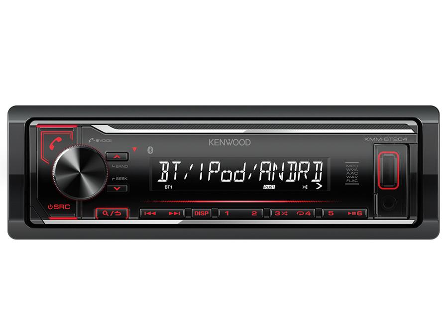 Kenwood KMM-BT204 Digital Media Receiver with Built-in Bluetooth