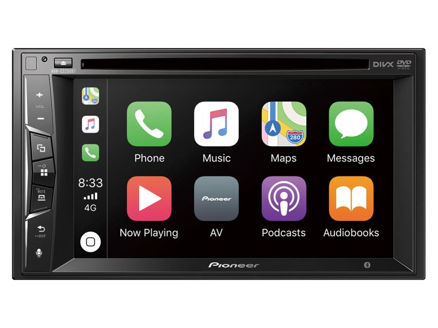 Pioneer AVH-Z2250BT Multimedia with Apple Car Play & Bluetooth