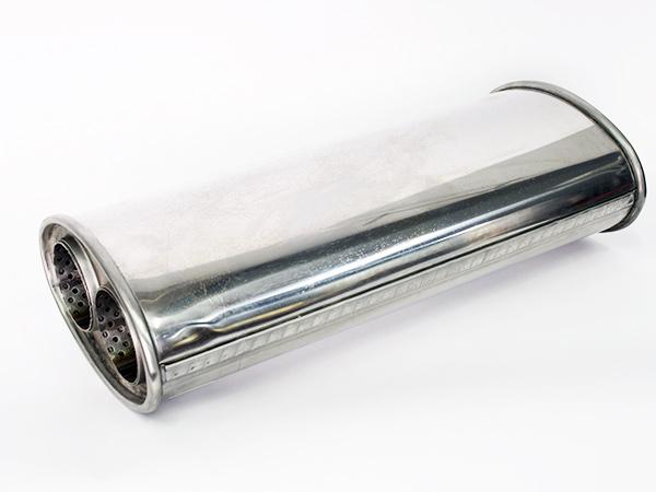 F1X Universal 34cm Single Exhaust Backbox