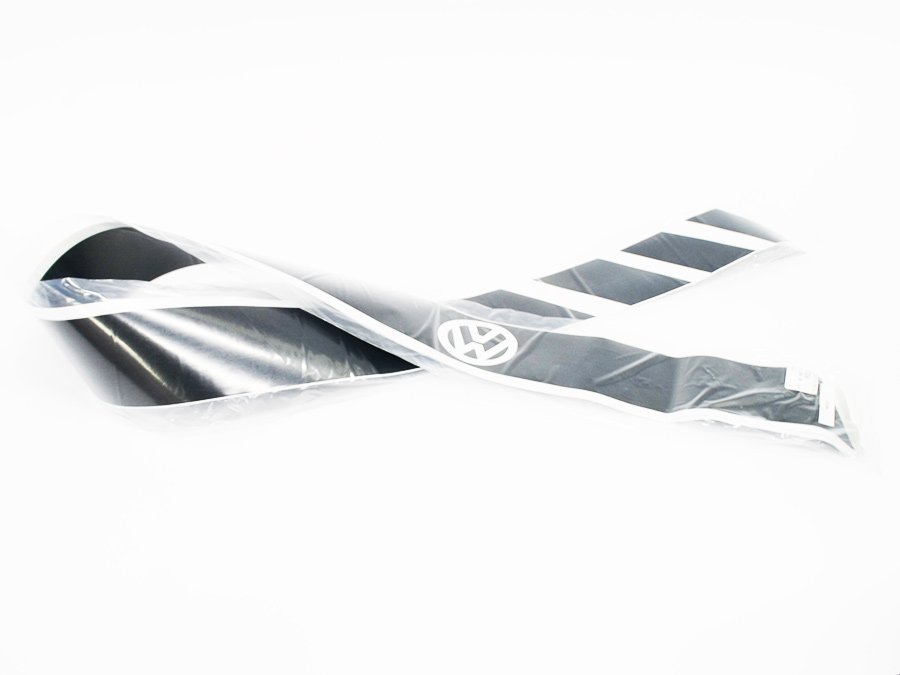 VW Diagonal Striped Side Door Panel Vinyl Sticker Set