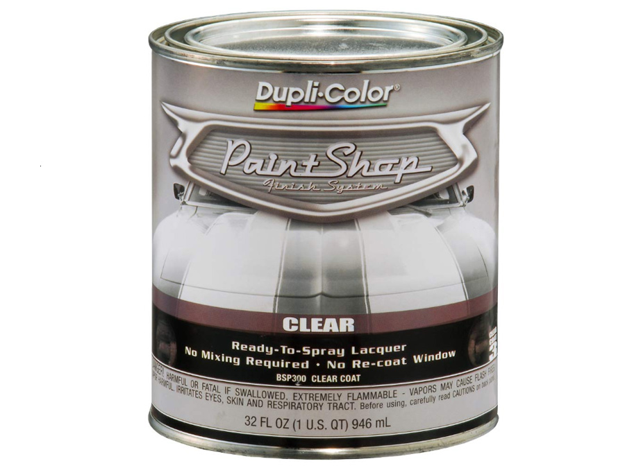 DupliColor BSP300-2 Paint Shop' Gloss Clear Finish System Top Coat