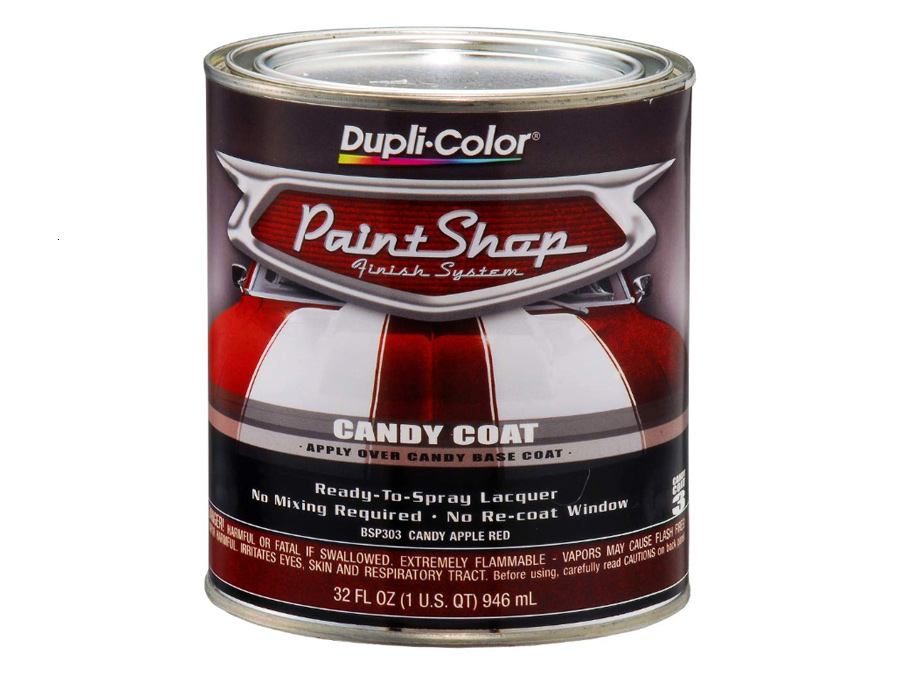 DupliColor BSP303 Candy Apple Red Paint