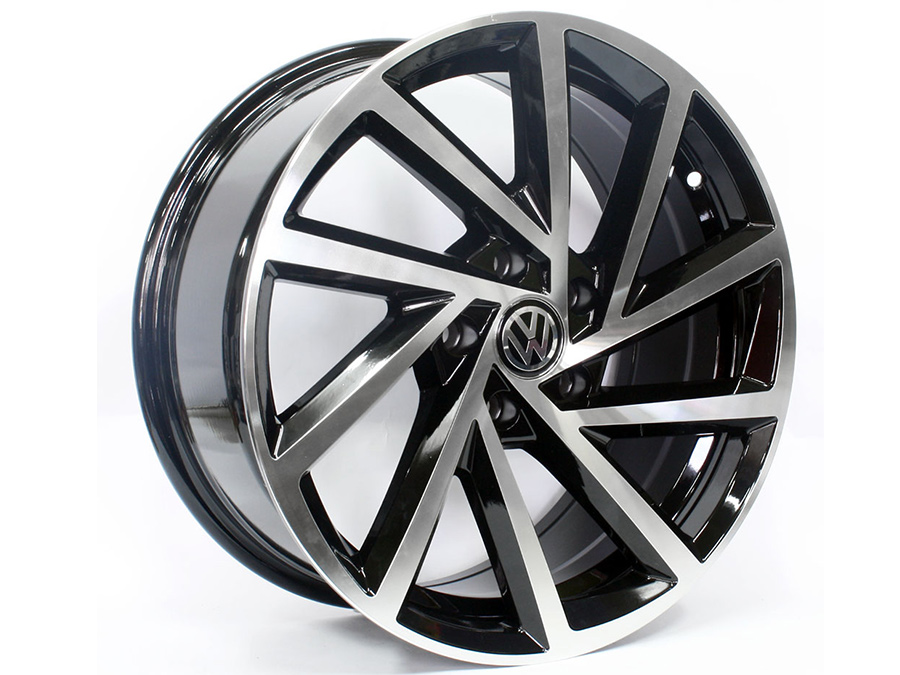 16″ QS R-Performance 5/100 BKMF Alloy Wheels