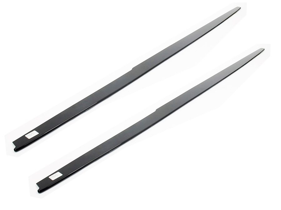 Suitable for F30/F32 Slimline Gloss Black Side Skirts (pair)