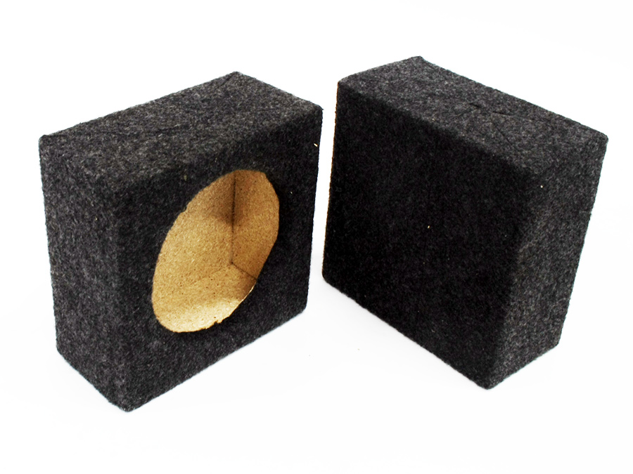 6″ Speaker Box Enclosures (sold as a pair)