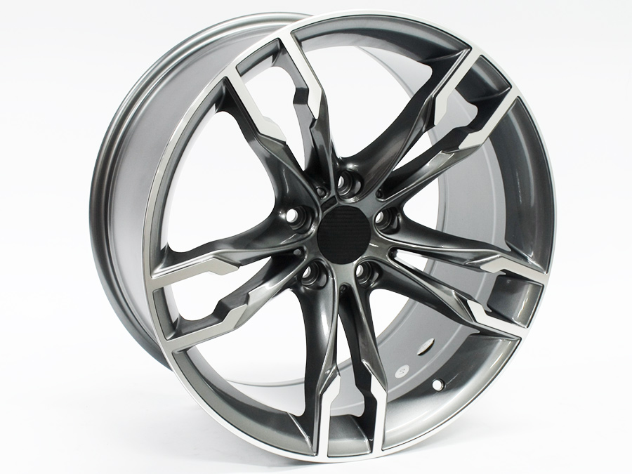 19″ SM763 5/120 Gunmetal Machined Face Alloy Wheels