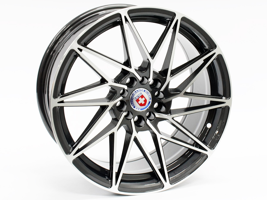 17″ Axe Boost-B 5/100 & 5/108 Gunmetal Machined Face Alloy wheels