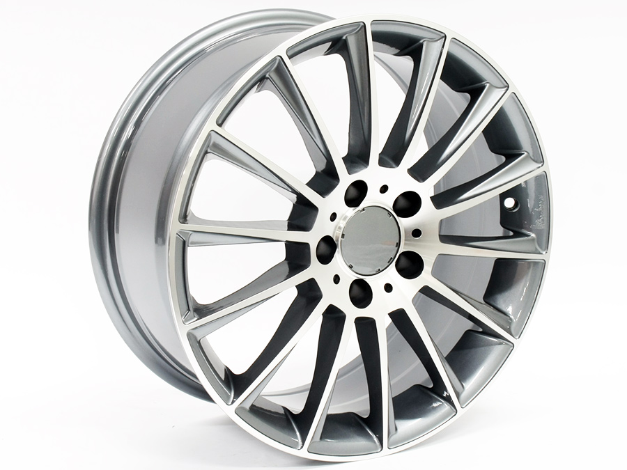 17 ZW SG13 5/112 Gunmetal Machine Face Alloy wheels
