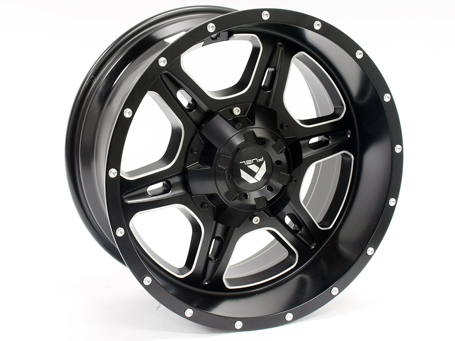 18″ Axe Cronos 6/139 Matt Black Alloy Wheels