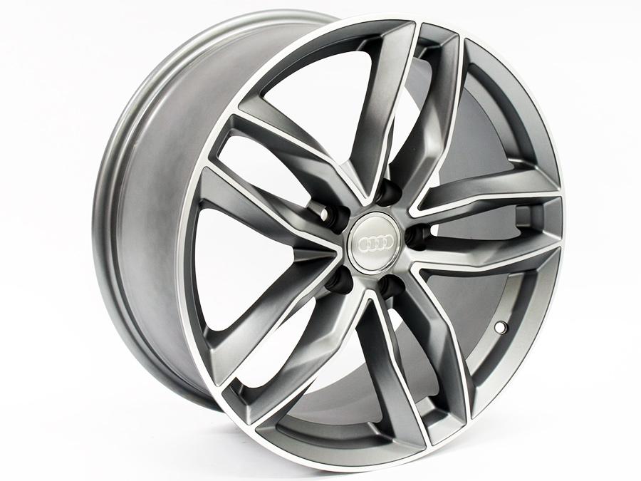 18″ ZW CT1208 5/112 Gunmetal Alloy wheels