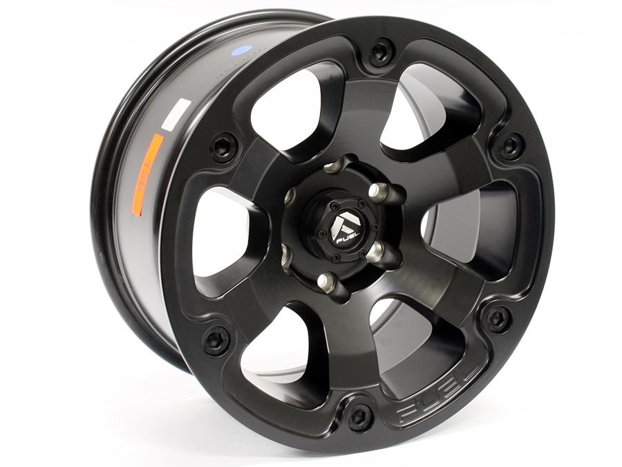 17″ ZW SG07 6/139 Black Machine Face Alloy Wheels
