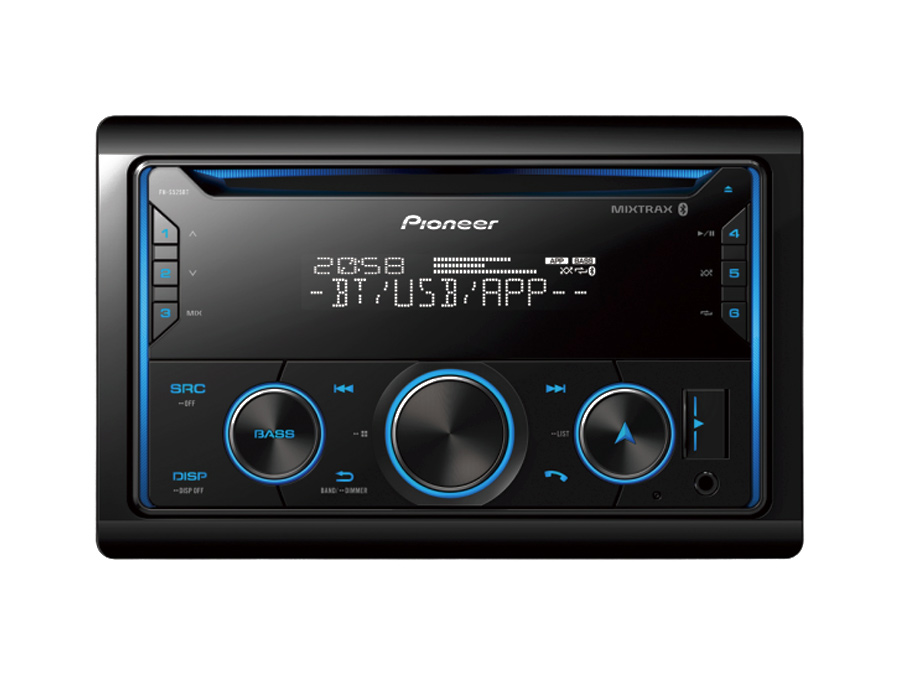 Pioneer FH-S525BT Double Din Mp3 Cd with USB & Bluetooth