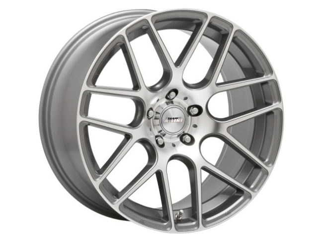 19″ A-Line Racer 5/120 Gunmetal Machined Face Alloy Wheels