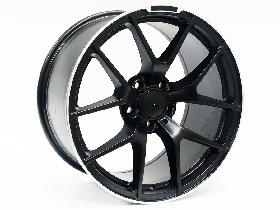 18″ ST Ruby 5/112 Black Machined Lip Alloy wheels