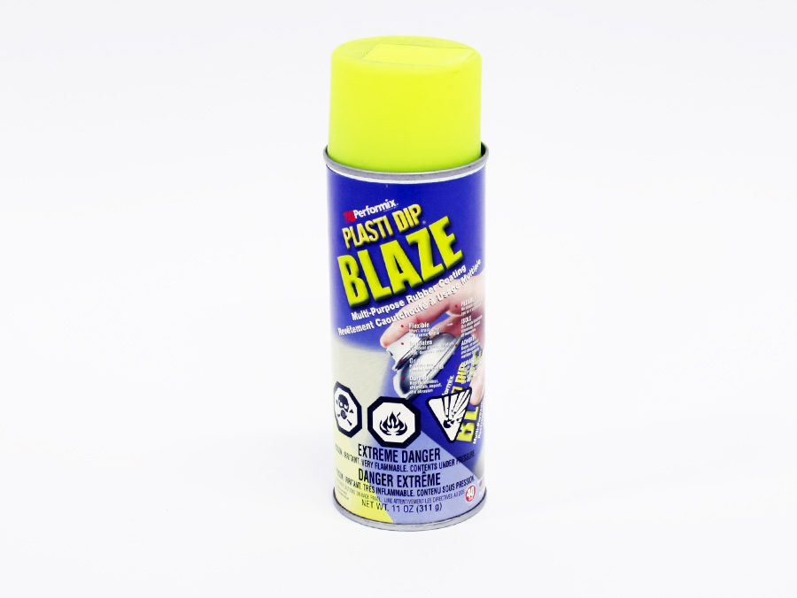 Plasti-Dip Liquid Vinyl Spray - Blaze Yellow