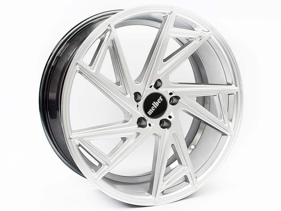 20″ GR Melber 5/120 Hypersilver Alloy Wheels
