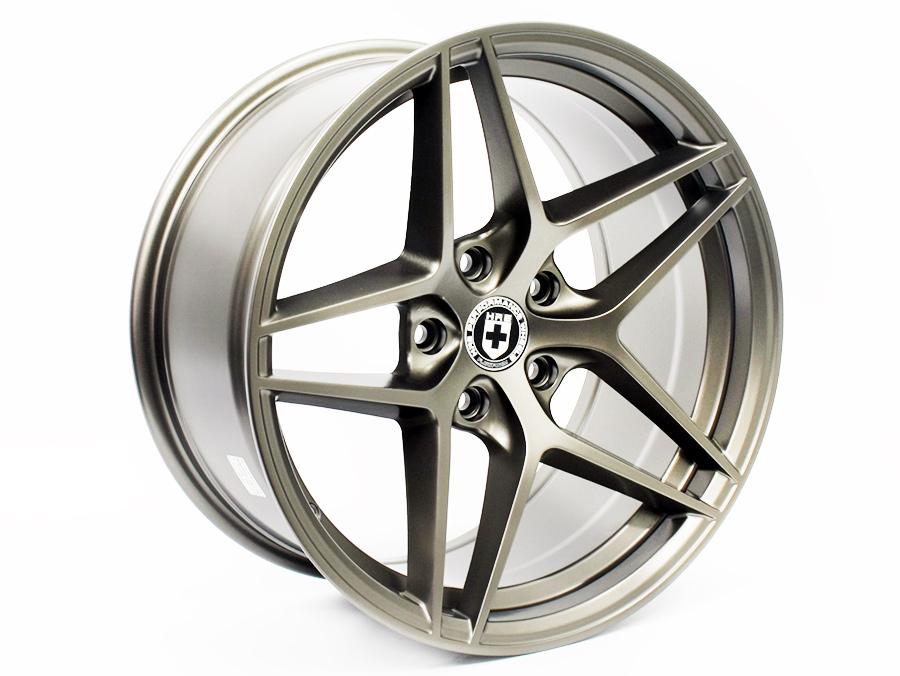 18″ Axe Madrid 5/120 Satin Gunmetal Alloy Wheels