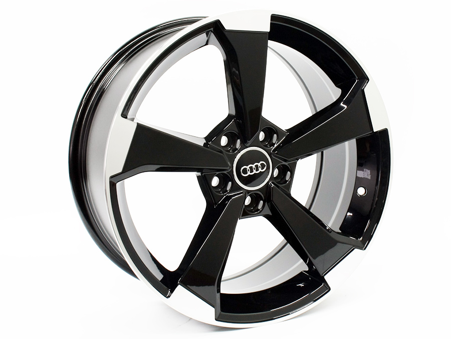 18″ Axe 5589 Audi S3 Style 5/112 Matt Black Alloy Wheels