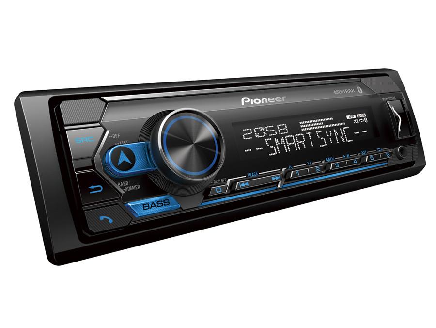 Pioneer MVH-S325BT Multimedia with Bluetooth, Spotify, Siri Eyes Free