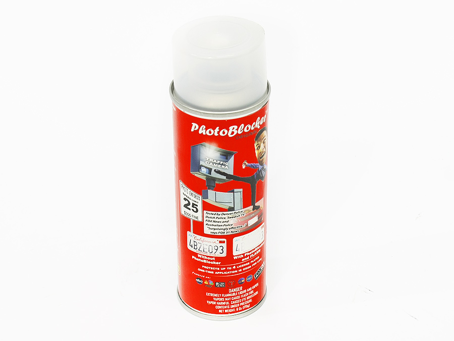 Photo Blocker Spray for Number Plates