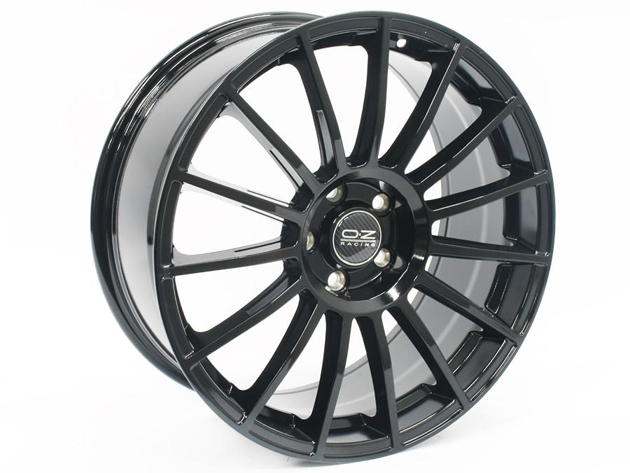 19″ QS SuperTurismo 5/112 Black Alloy Wheels