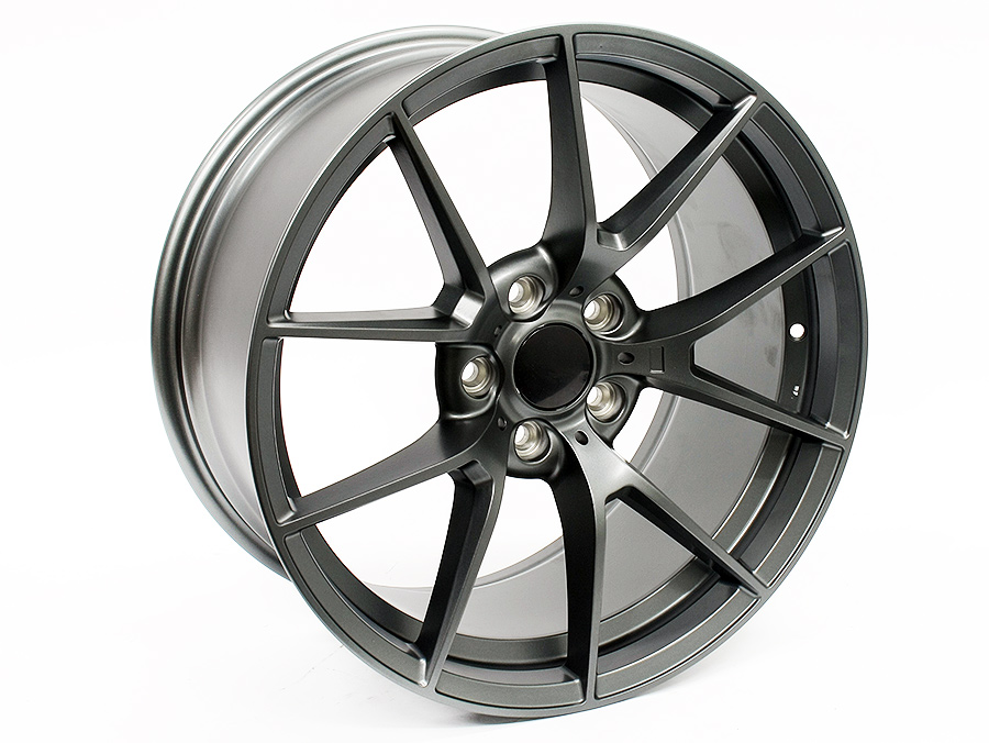 19″ R-Line RL547 5/120 Gunmetal Machined Face Alloy Wheels