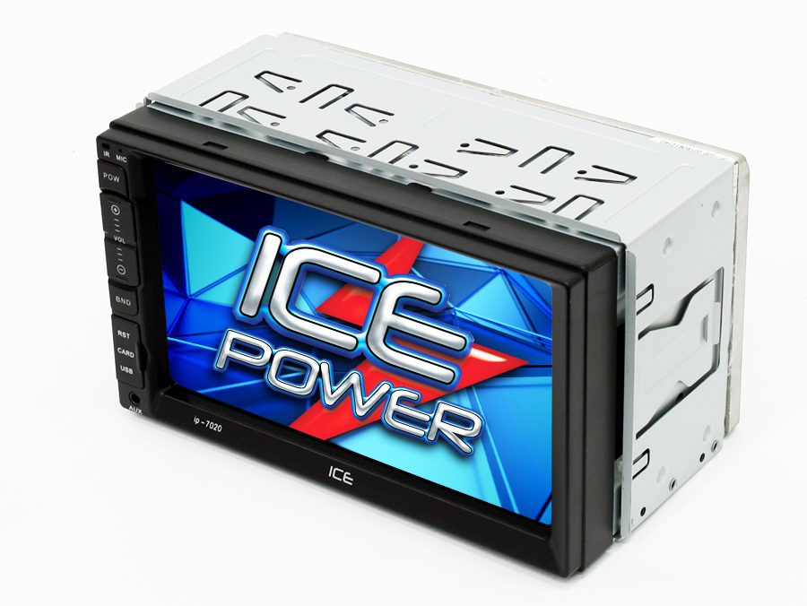 Ice Power Ip 7020 Double Din Media Player With Bluetooth
