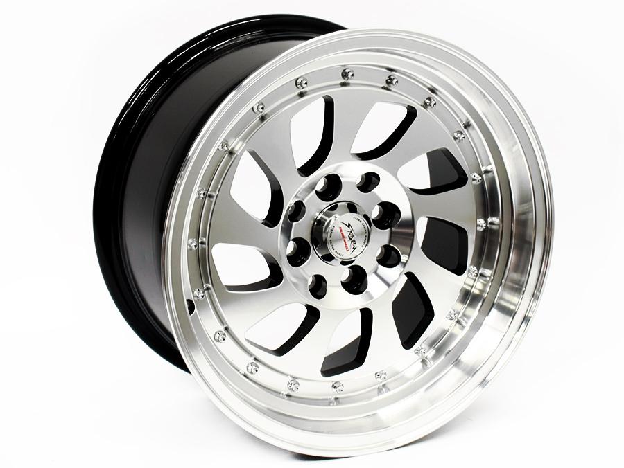 15″ ST Power 4/00 & 4/114 BKILP Alloy Wheels