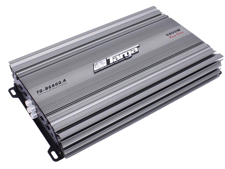 Targa TG-B6800.4 Bang Series 6800watt 4 Channel Amplifier