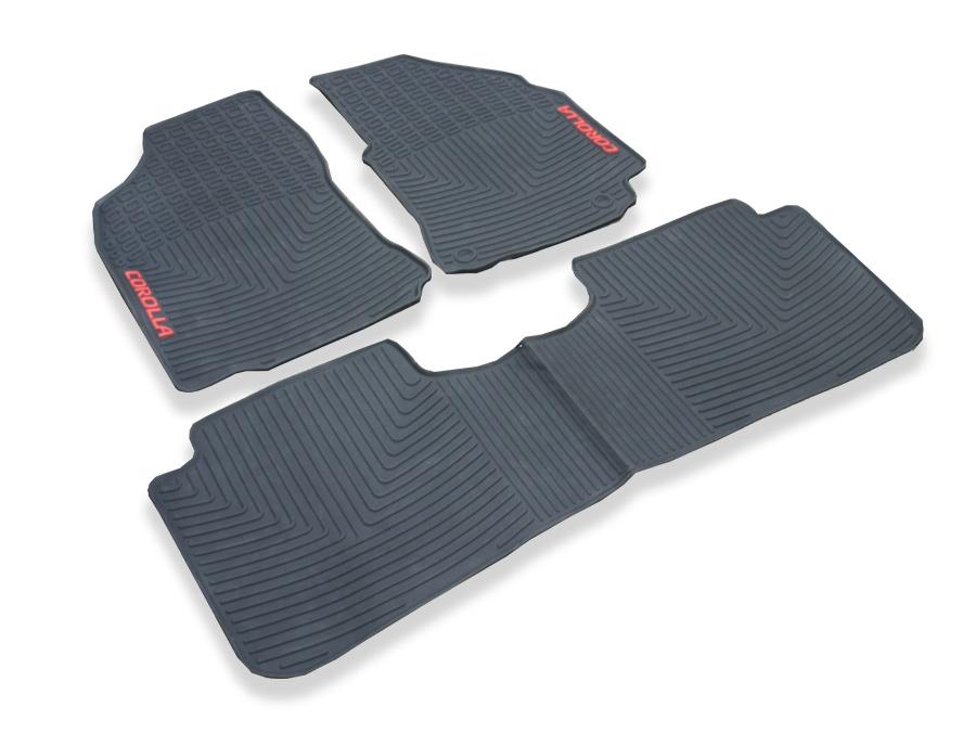 Toyota Corolla 2014 Rubber Floor Mats