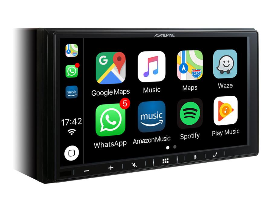"Alpine ILX-W650BT 7"" Digital Media Player with Apple CarPlay, Android Auto"