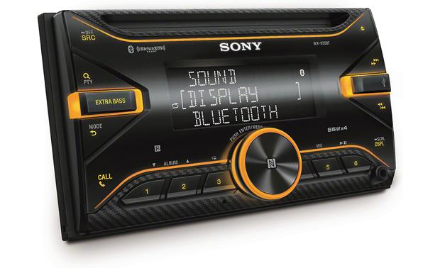 Sony WX-920BT Double-Din Bluetooth iPhone USB AUX CD Player