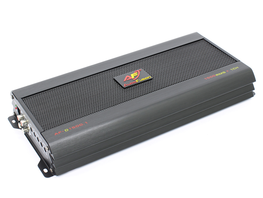 AudioFusion 1500rms Digital Series 1ohm Amplifier