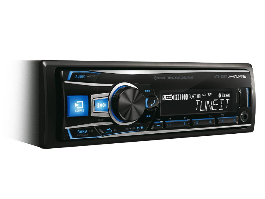 Alpine UTE-92BT Media Player with bluetooth