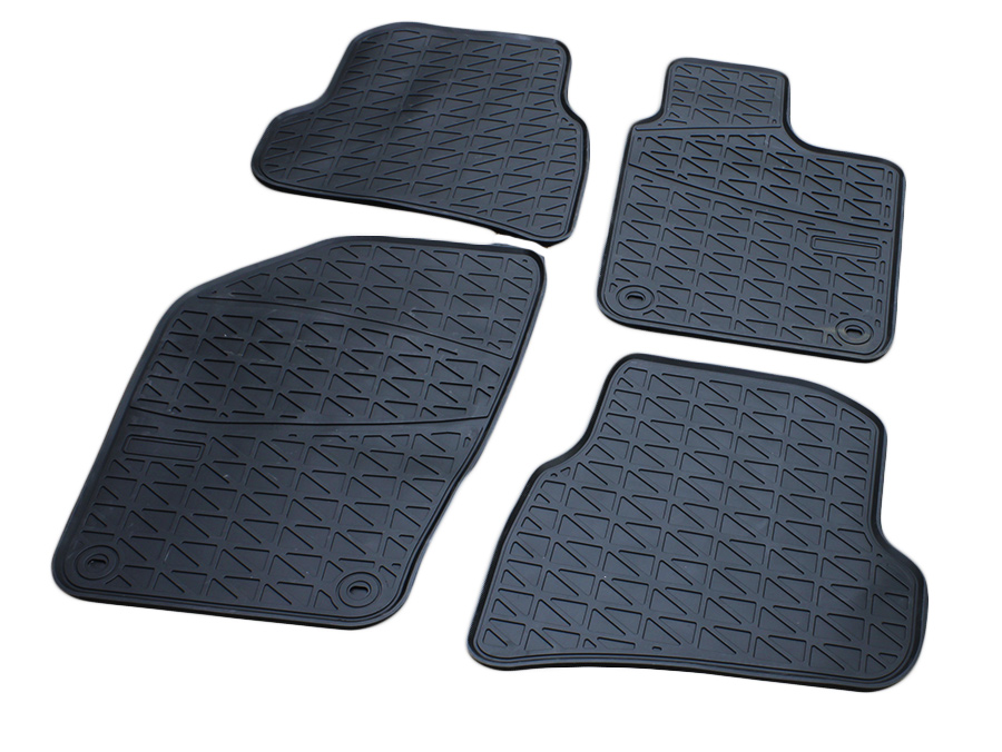 Rubber Moulded Design Floormats suitable to fit VW Polo