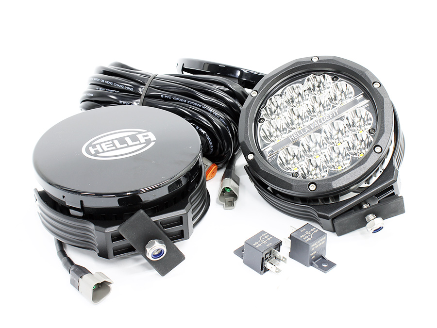 Hella 6″ VF6306 Supernova Kit with Switch & Wiring