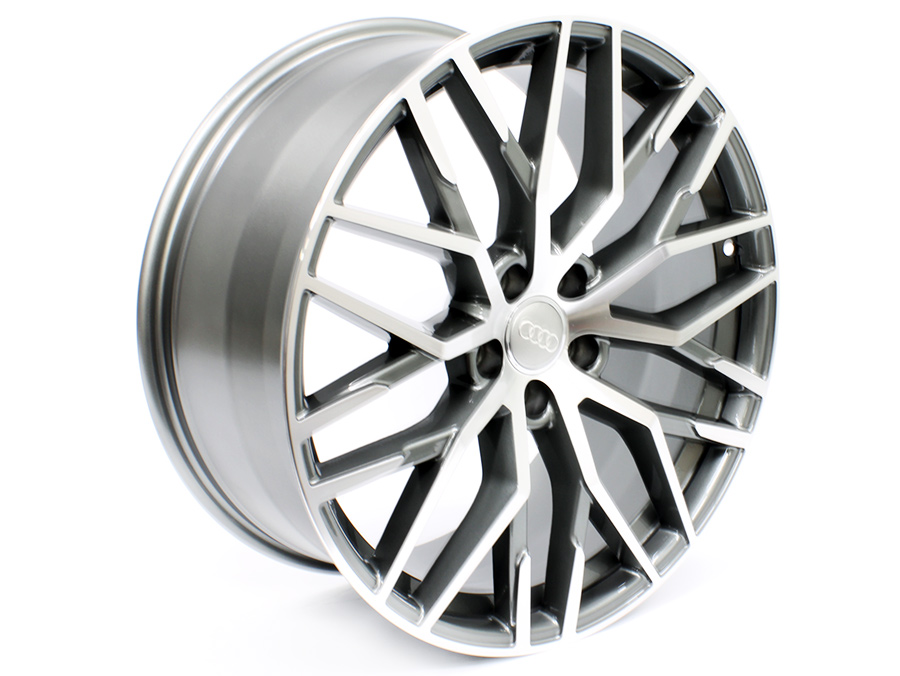 20″ R-Line Rl1364 5/112 Gunmetal Machined Faced Alloy Wheels