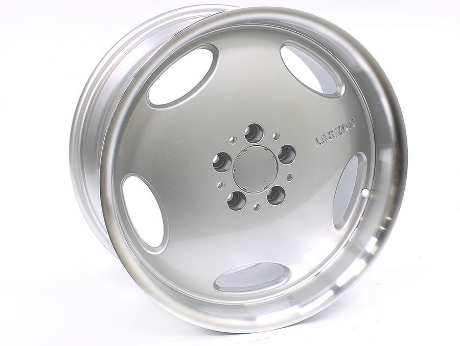 18″ R-Line 75155 5/112 Silver Alloy Wheels