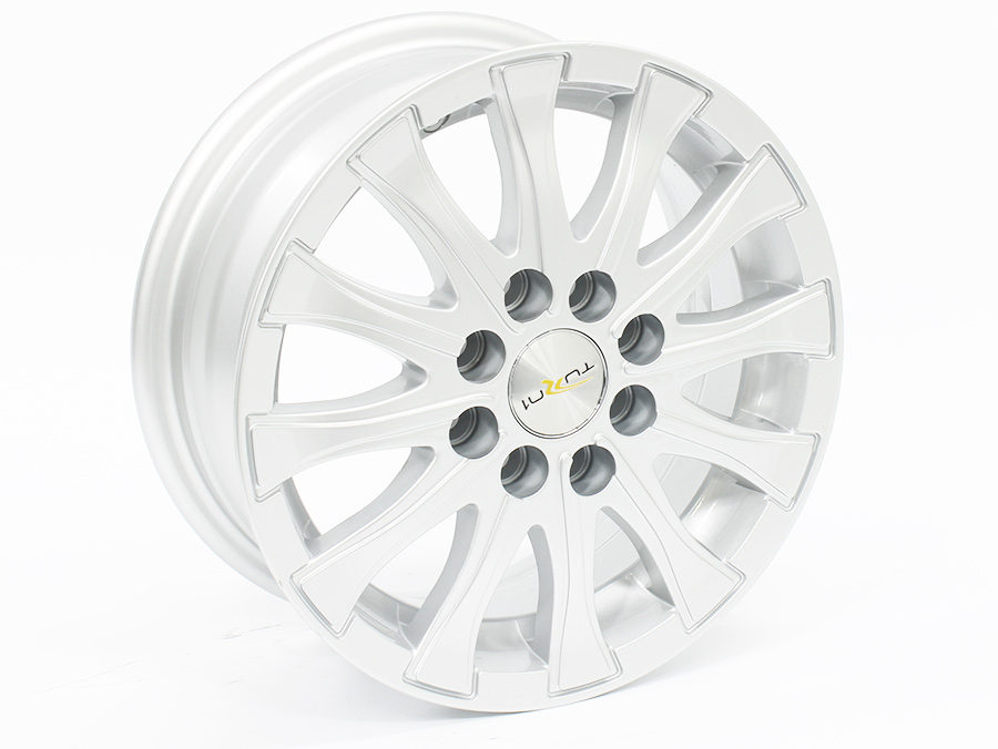 13″ YSA G071 4/100 & 4/108 Silver Alloy Wheels