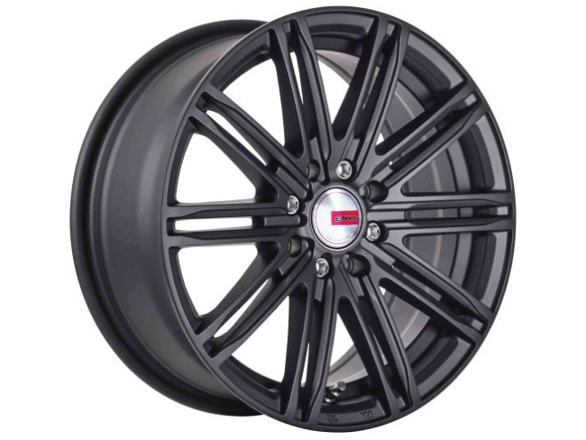 13″ A-Line Speed 4/100 & 4/108 Satin black Alloy Wheels