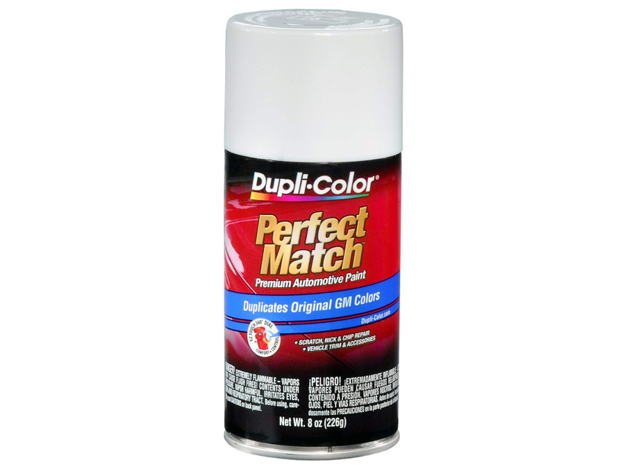 Duplicolor Perfect Match (arctic white) Spray Paint