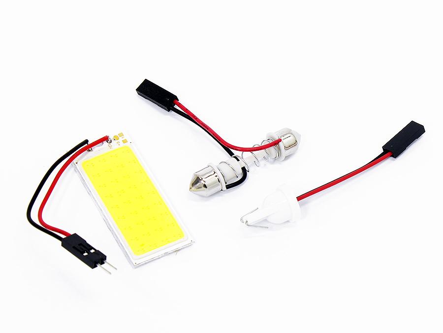 Interior LED White Lighting Bulb Combo kit (includes all 3 bulbs)