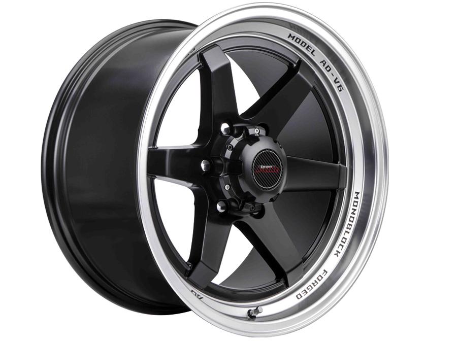 18″ A-Line Black Ash 6/139 STBK Alloy Wheels