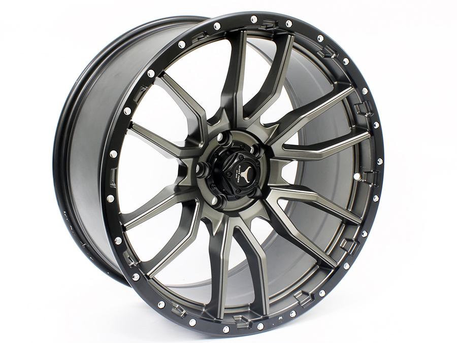 20″ Axe Bronco 5/120 Gunmetal Alloy Wheels