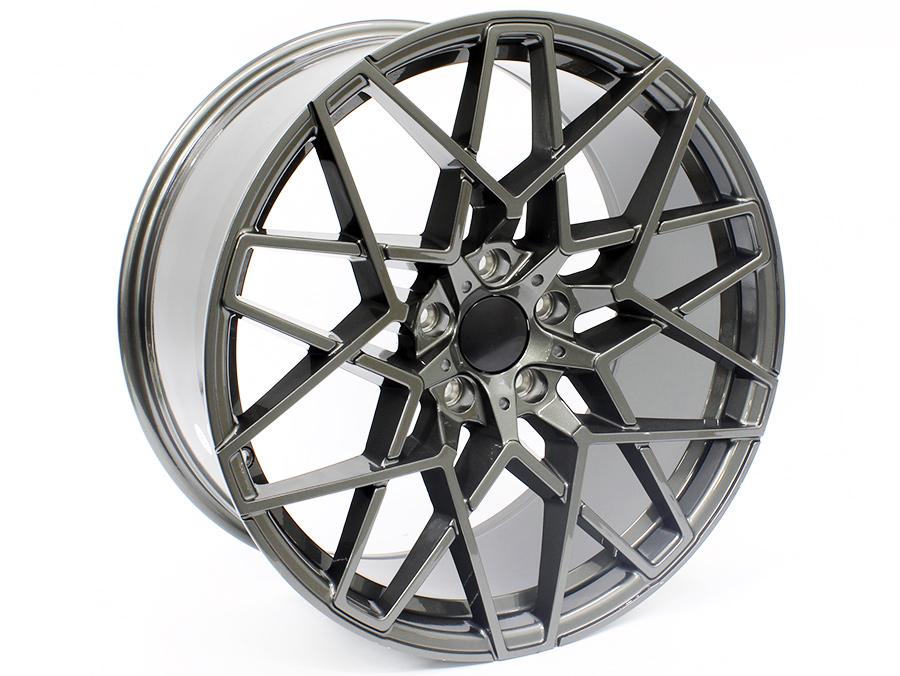 20″ R-Line Equinox 5/120 Gunmetal Alloy Wheels