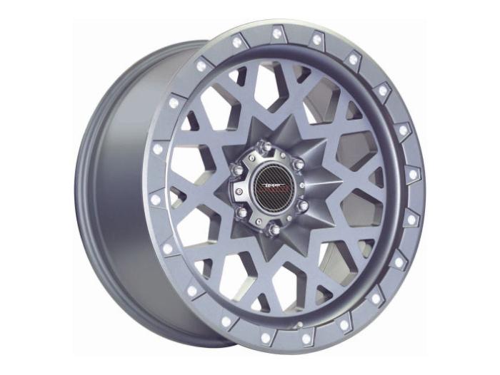 20″ A-Line Invader 6/139 Matt Grey Alloy Wheels